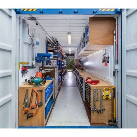 Container atelier BTP