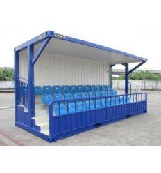 Containers tribunes