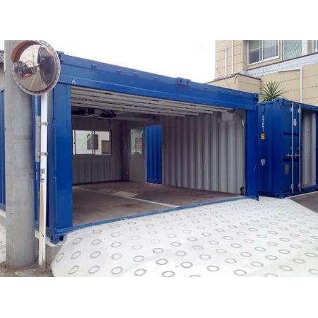 Garage préfabriqué container