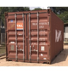 Container maritime occasion 20 pieds Dry