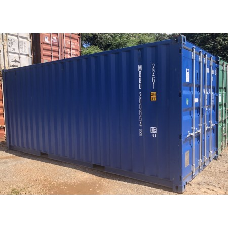 Container 20 pieds Dry 1er Voyage