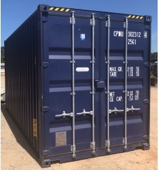 Container maritime 20 pieds High cube 1er voyage