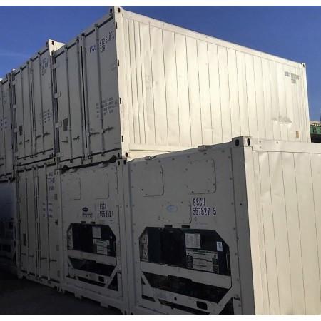 Container 20 pieds reefer occasion groupe révisé, reconditionné