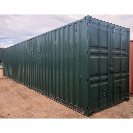 Container 40 pieds High cube reconditionné (Ext traité repeint)