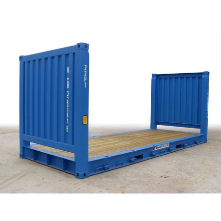 Container 20 pieds Flat occasion
