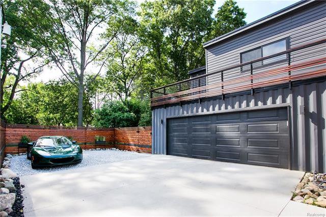 garage container maison